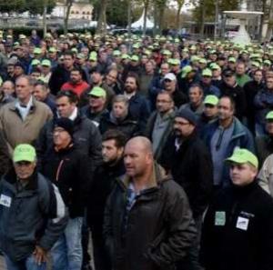 Carcassonne, mobilisation réussie pour les agriculteurs