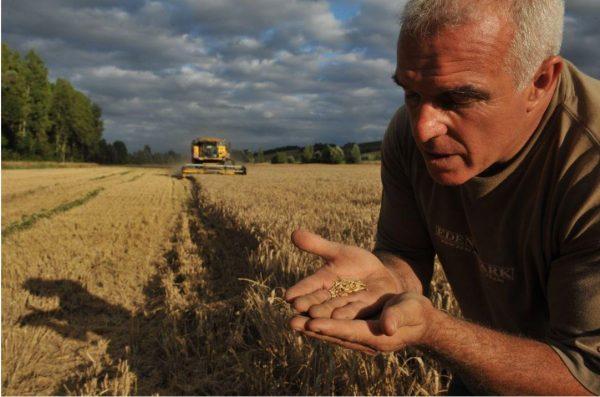 Didier JEANNET Président de la FDSEA Photo : La Dépêche du Midi 02/10/17